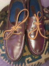 Vintage Mens Polo Ralph Lauren Country Dry Goods Boat Shoes Loafers Size 10.5 D