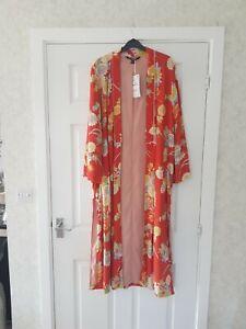 Zara small/medium dust kimono coat