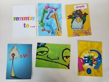 Planet Boomerang Promo 6 Cards 2000s graphics art