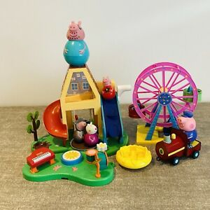 Peppa Pig toy bundle - weebles & other figures