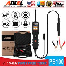12V 24V Power Probe Circuit Tester Car Electrical System Powerscan Battery Test