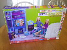 Mary-Kate and Ashley Dolls - Playset - Let's Hang Out Room Accessory COMPLETE