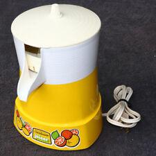Vintage Electric Citrus Juicer Retro Atomic Yellow Triangular SUNBEAM MCM Cool