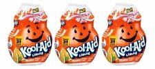 Kool-Aid Orange Flavor Enhancer Liquid Drink Mix 3 Bottle Pack