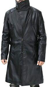 Blade Runner 2049 Ryan Gosling Fur Lapel Collar Trench Faux Leather Coat