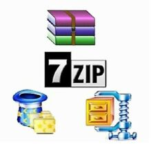 7Zip - Extraction and compression Soft Compatible with WinZIP WinRAR Zip Unzip