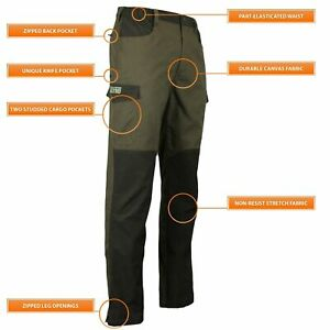 Game Men's Forrester Breathable Water Repellent Hunting Hiking Trousers