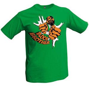 Comic - Blood Brother T-Shirt grün