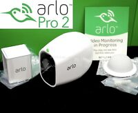 NEW ARLO PRO 2 Netgear 1080p HD Add-On Security Camera Wireless White VMC4030P