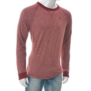 Abercrombie & Fitch New York Men's Muscle Fit Crew N Raglan Long Sleeve Top L