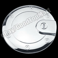 For 2005-2007 2008 2009 2010 Jeep GRAND CHEROKEE Chrome Fuel Gas Cap Door Cover