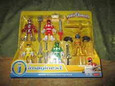 Fisher Price Imaginext Power Rangers Battle Pack Red Goldar Lord Zedd Green NEW