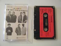 IAN DURY AND THE BLOCKHEADS LAUGHTER CASSETTE TAPE 1980 RED PAPER LABEL STIFF