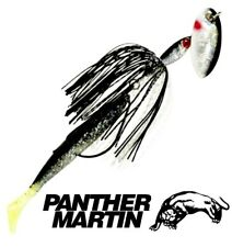 "Panther Martin 3/8 OZ. HulaRunner™ WEEDLESS Inline Natural Shad 6.5"" Spinner"