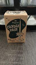 Vintage The Original Candle Vase Inc. w/ Box 1950's-60s Flower Bouquets