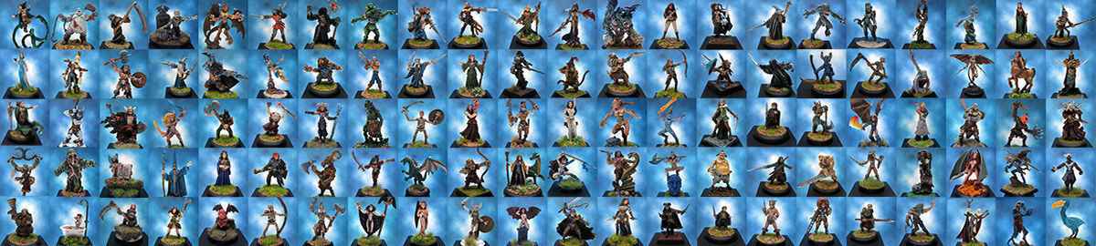 Painted Fantasy Miniatures