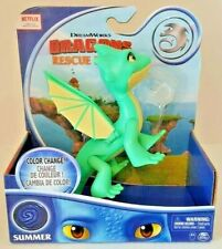 """Dreamworks Dragons Rescue Riders 6"""" COLOR CHANGE SUMMER Figure Netflix New"""