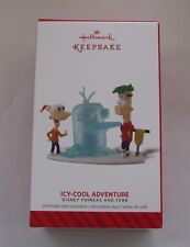 Hallmark 2014 Disney Phineas & Ferb Icy Cool Adventure Perry Platypus Ornament
