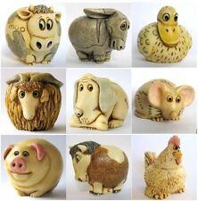Lot of 9 x Farmyard Oddbods - NIB - Animal Solid Figurines - MPS Harmony Kingdom