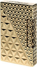 S.T. Dupont Ligne 2, Gold Fire Head Lighter, ST016254 (16254) New In Box