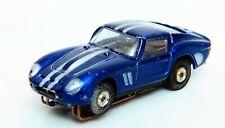 Aurora Model Motorng Thunderjet Candy Ferrari Slot Car,Blue/Silver StripeLot 422