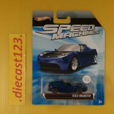 Hot Wheels SPEED MACHINES TESLA ROADSTER Blue (#TR2)