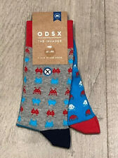 ODSX - Socks - Unisex - Multi - Sneaker - 41/46 - Space Invader-Alien - Atari