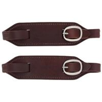 Weaver Leather Ken McNabb Harness Leather Slobber Straps - Canyon Rose