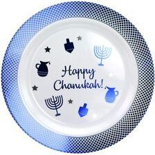 Happy Chanukah 7.5 in Blue Plastic Plates