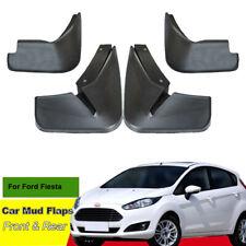 For Ford Fiesta Car Mud Flaps Splash Guard Mudguard Mudflaps 4pcs ABS Fender