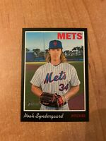 2019 Topps Heritage - Noah Syndergaard - #83 Black Border Parallel /50 made