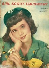 VINTAGE 1959 GIRL SCOUT EQUIPMENT CATALOG - 39 PAGES