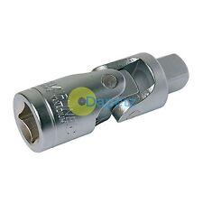 "Universal Joint 1/4"" Socket Adaptor Flexible Head Spring Loaded Ball"