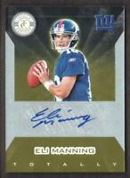 2011 Totally Certified Football Gold Signature AUTO #EMA Eli Manning 09/15