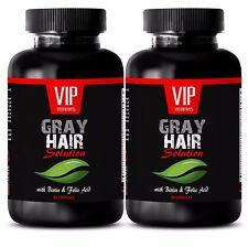PABA - GRAY HAIR SOLUTION. DIETARY SUPPLEMENT - B6 vitamins - 2B
