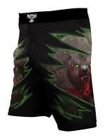 Raven Fightwear Men's The Ursine Bear BJJ MMA Shorts
