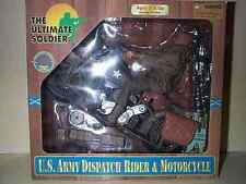Ultimate Soldier 12 Inch Wwii Us Army Motorcycle Dispatch Rider Soldier Mib Nib