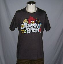 ANGRY BIRDS MEN'S SHORT SLEEVE TEE T SHIRT SIZE LARGE NEW WITH TAG!