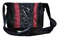 Gothic Renaissance Unisex Punk Vintage Victoria Black Retro College Shoulder Bag