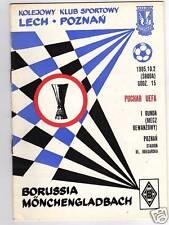 Prg uefa Cup 85/86 Lech poznan-Mönchengladbach