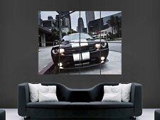 Dodge Challenger Super Coche Gigante De Pared de arte cartel impresión de foto