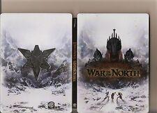 Señor De Los Anillos Guerra en el norte XBOX 360/X Caja 360 versión Libro De Acero