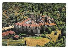 Greece Mt. Athos Monastery of Hilandari Aerial View Vtg Postcard
