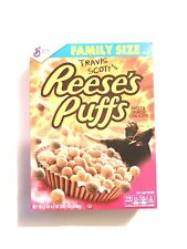 Travis Scott X Reeses Puffs Cereal Special Edition (Family Size) *Very Rare*