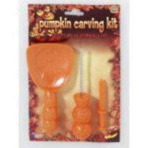 Pumpkin Carving Kit, Halloween Food Accessory Prop