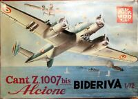 Super Model 1/72 Cant Z.1007 bis Alcione Bideriva unmade complete kit sealed bag