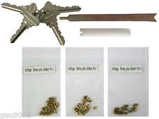Schlage Rekey Kits 4 Keys 12 Locks Rekeying 5 Pins Kit Locksmith Key Tools