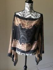 Chiffon Evening, Occasion Unbranded Machine Washable Tops & Blouses for Women