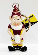 333149 BRISBANE BRONCOS NRL TEAM RESIN GNOME KEY RING KEYRING CHAIN