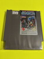 🔥100% WORKING NINTENDO NES Game Cartridge🔥 BAD STREET BRAWLER 🔥POWER GLOVE🔥
